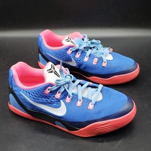 Nike Kobe 9 IX Low EM GS Cobalt Blue Pink